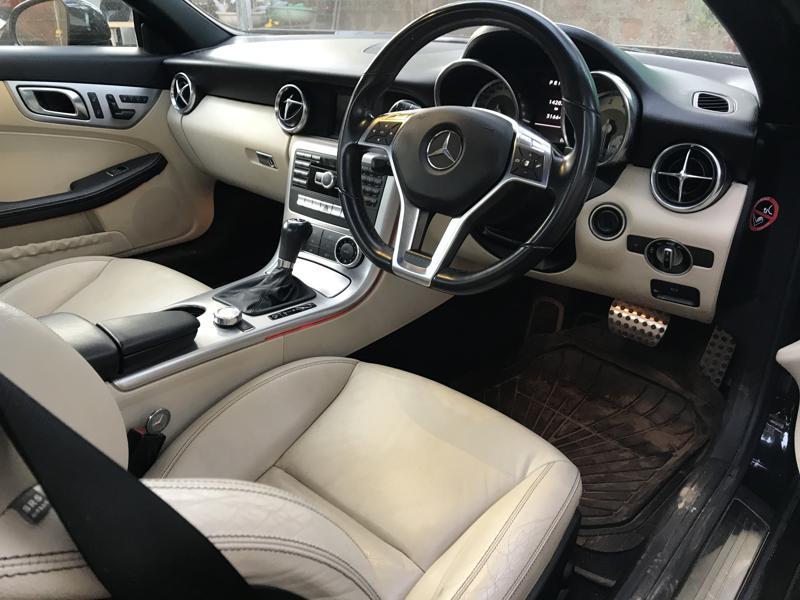 Used 2012 Mercedes Benz SLK Class Car In Goa
