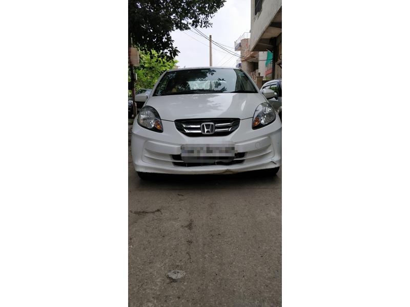 Used 2013 Honda Amaze Car In Faridabad