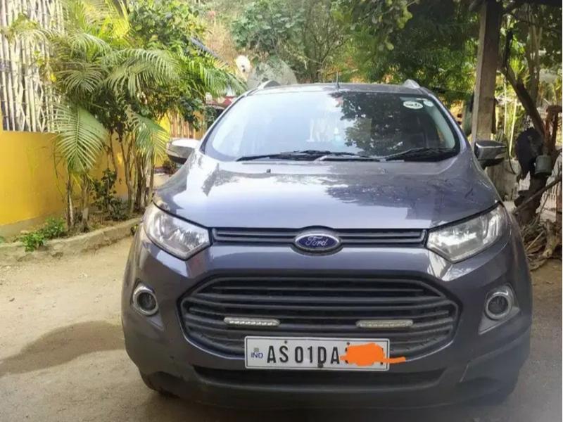 Used 2016 Ford EcoSport Car In Guwahati