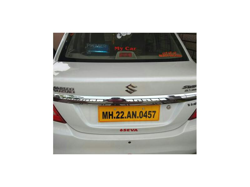 Used 2017 Maruti Suzuki Swift DZire Tour Car In Parbhani