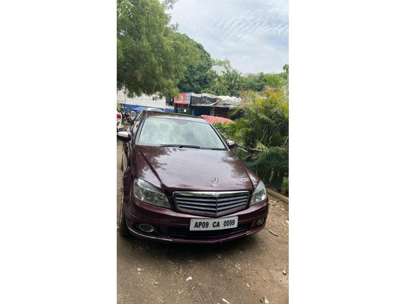 Used 2010 Mercedes Benz C Class Car In Hyderabad