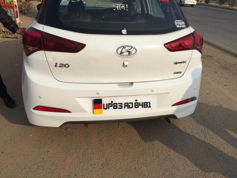 Used 2015 Hyundai Elite i20 Car In Firozabad