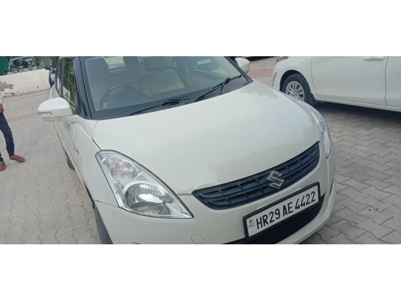 Used 2013 Maruti Suzuki Swift Dzire Car In Bhiwani