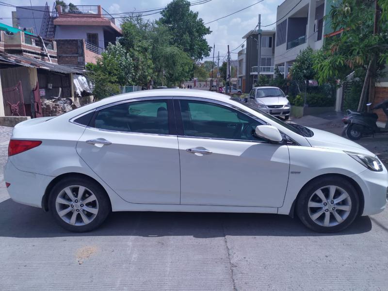 Used 2012 Hyundai Verna Car In Indore