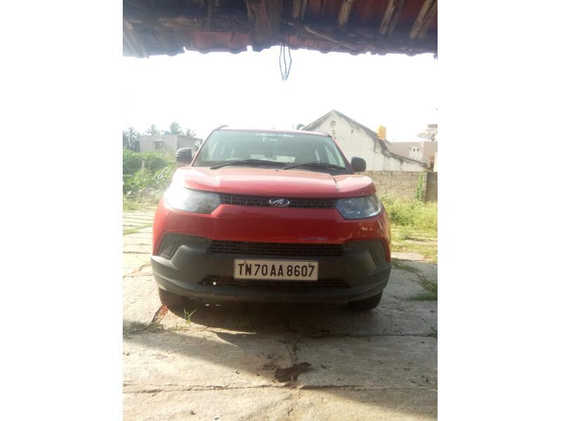 Used 2017 Mahindra KUV100 Car In Hosur