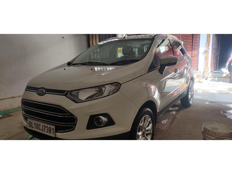 Used 2017 Ford EcoSport Car In New Delhi
