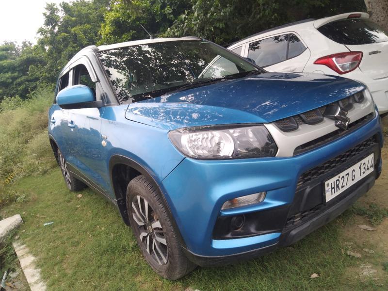 Used 2017 Maruti Suzuki Vitara Brezza Car In Faridabad