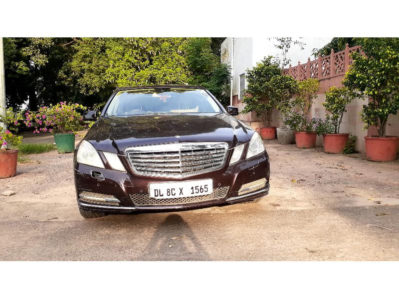 Used 2011 Mercedes Benz E Class Car In New Delhi
