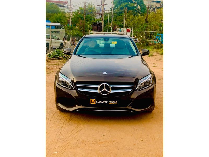 Used 2016 Mercedes Benz C Class Car In Hyderabad