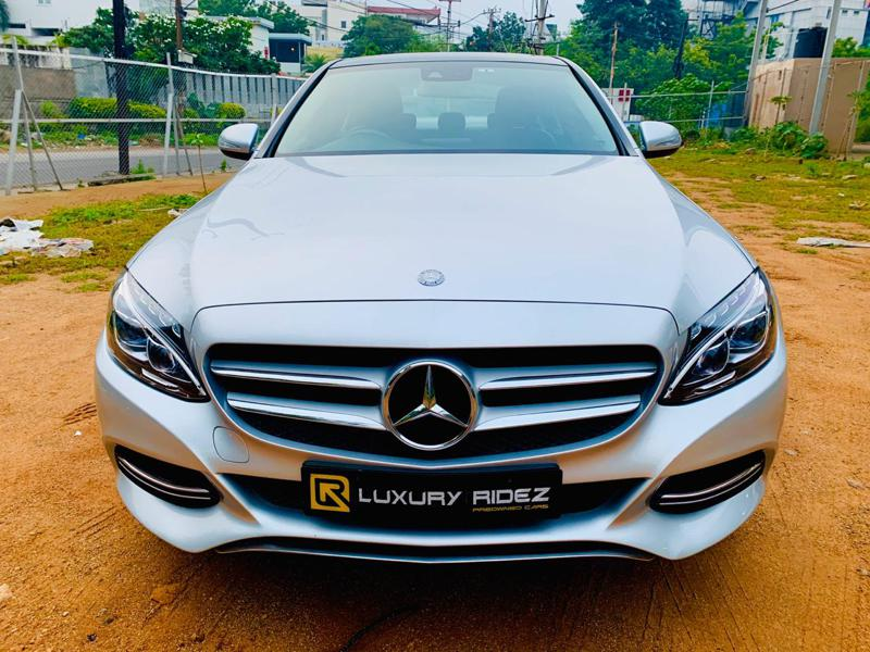 Used 2015 Mercedes Benz C Class Car In Hyderabad