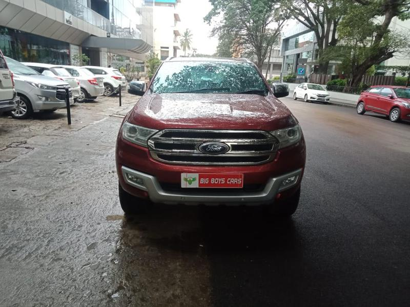 Used 2017 Ford Endeavour Car In Bangalore