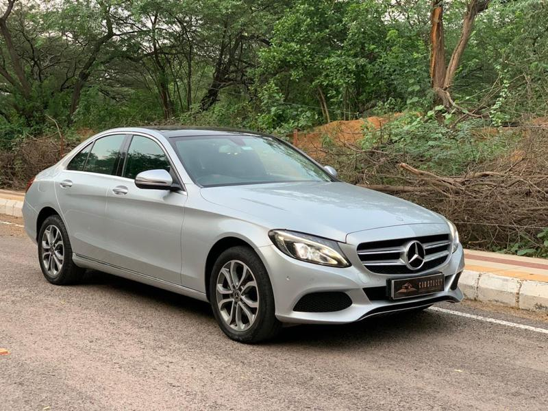 Used 2018 Mercedes Benz C Class Car In New Delhi