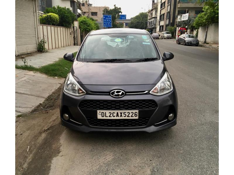 Used 2017 Hyundai Grand i10 Car In New Delhi