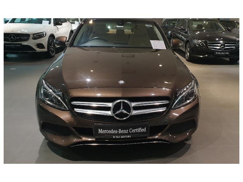 Used 2015 Mercedes Benz C Class Car In New Delhi