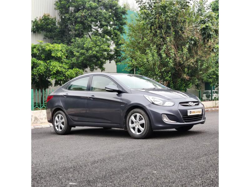 Used 2014 Hyundai Verna Car In Faridabad