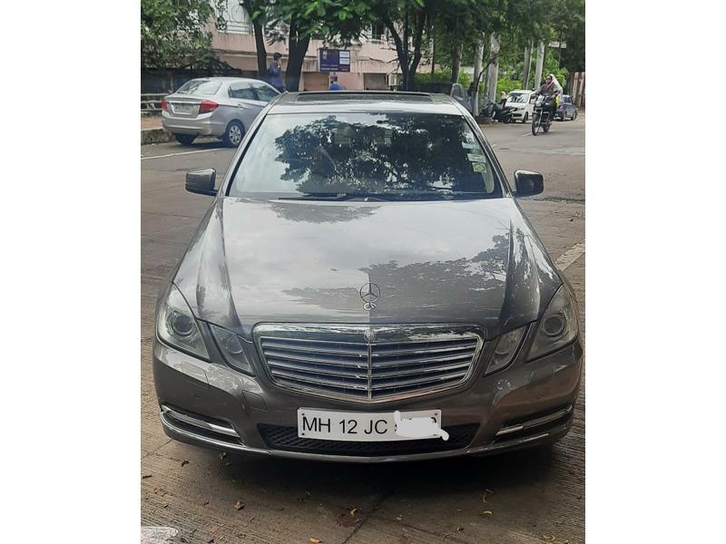 Used 2012 Mercedes Benz E Class Car In Pune