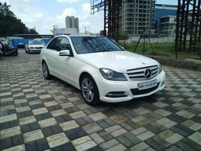 Used 2013 Mercedes Benz C Class Car In Pune