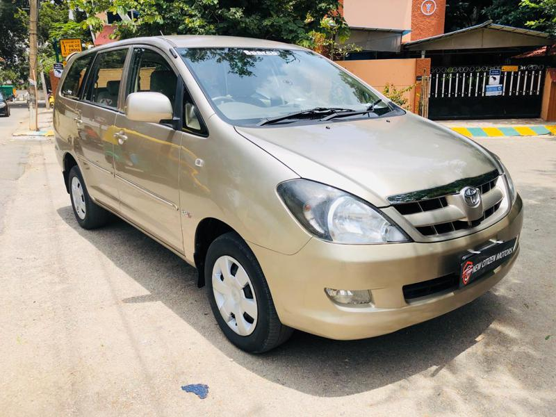 Used Toyota Innova In Bangalore Second Hand Toyota Innova In Bangalore Cartrade