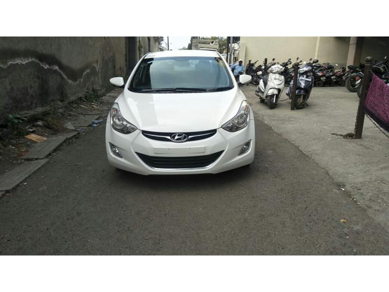 Used 2013 Hyundai Neo Fluidic Elantra Car In Ahmednagar