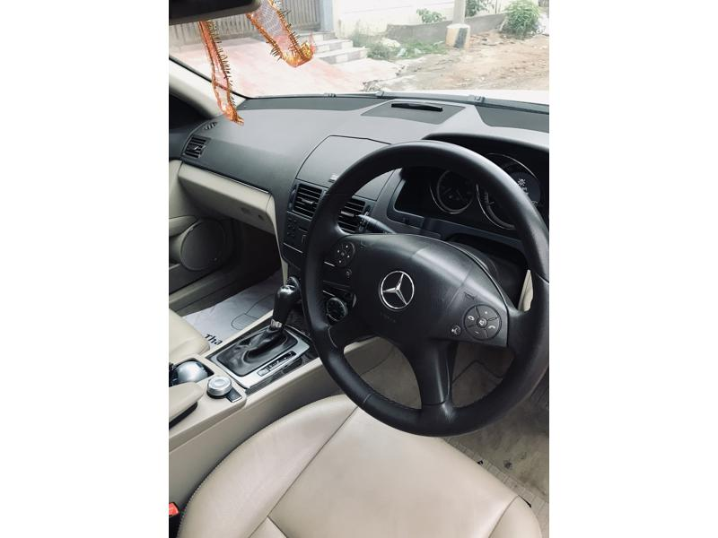 Used 2011 Mercedes Benz C Class Car In Hyderabad
