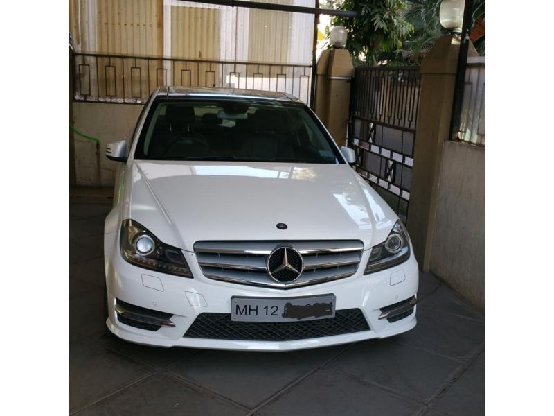 Used 2013 Mercedes Benz C Class Car In Pune