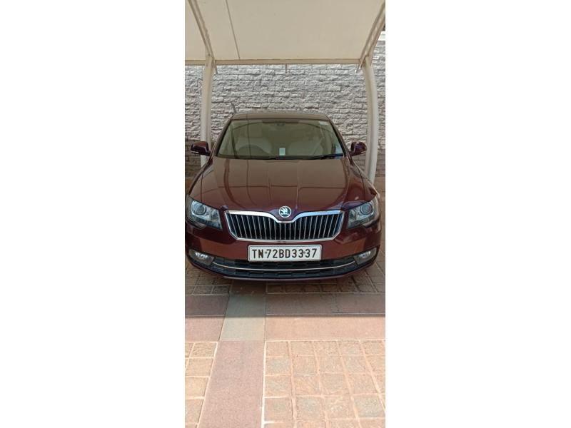 Used 2015 Skoda Superb Car In Tirunelveli