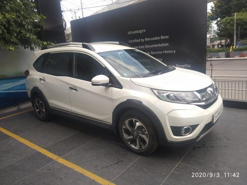 Used 2016 Honda BR-V Car In Amalapuram