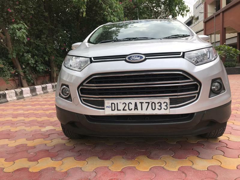 Used 2015 Ford EcoSport Car In Faridabad
