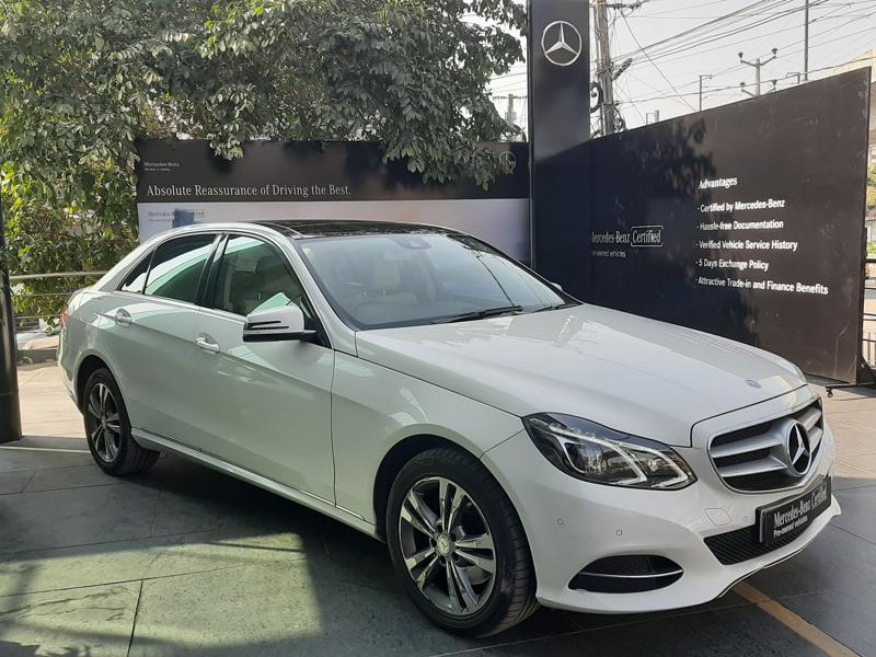 Used 2015 Mercedes Benz E Class Car In East Godavari