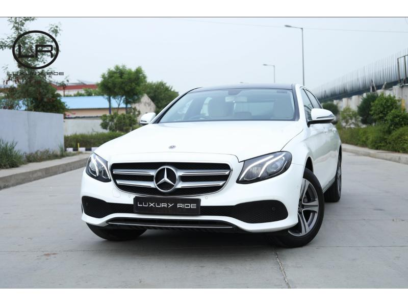 Used 2018 Mercedes Benz E Class Car In Jaipur
