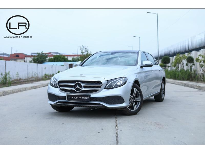 Used 2017 Mercedes Benz E Class Car In Karnal