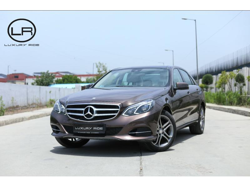 Used 2015 Mercedes Benz E Class Car In Karnal