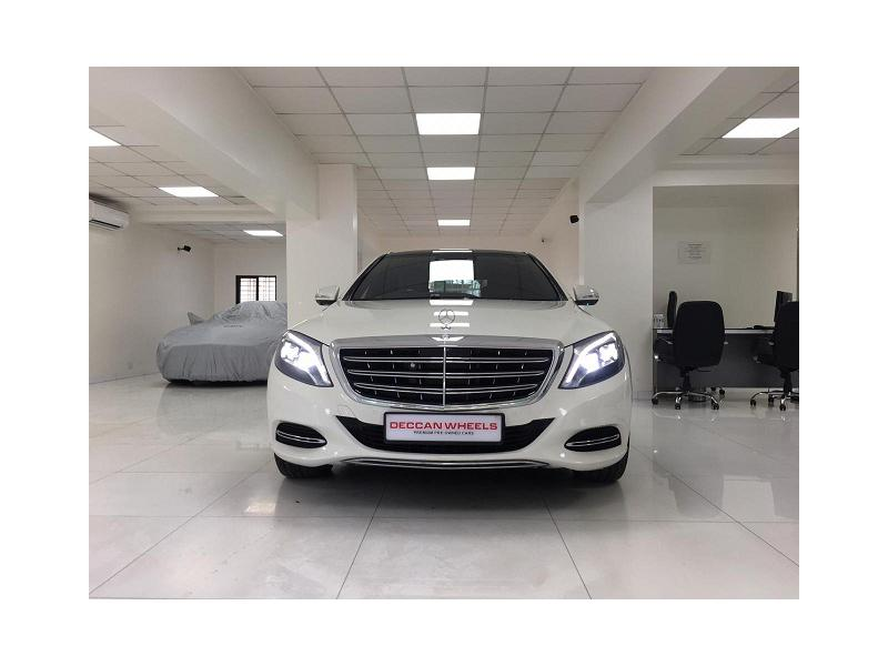 Used 2017 Mercedes Benz S Class Car In Pune