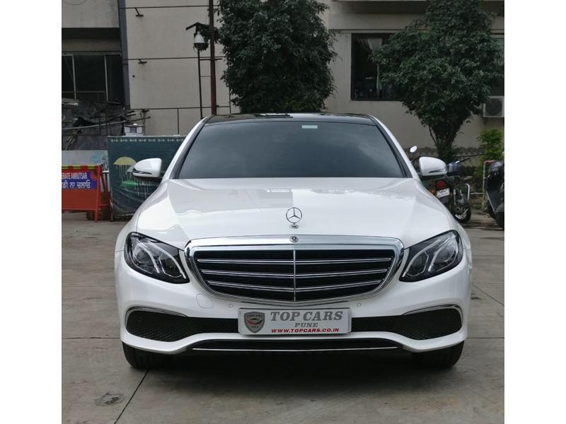 Used 2019 Mercedes Benz E Class Car In Pune