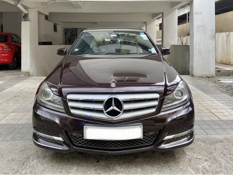 Used 2012 Mercedes Benz C Class Car In Hyderabad