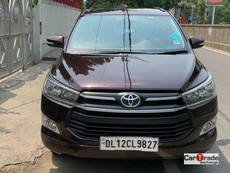 Used 2017 Toyota Innova Crysta Car In Noida