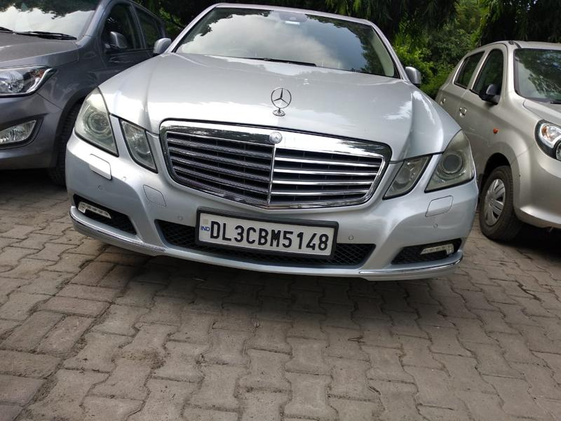 Used 2010 Mercedes Benz E Class Car In Faridabad