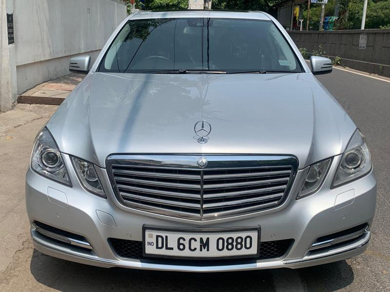 Used 2012 Mercedes Benz E Class Car In New Delhi
