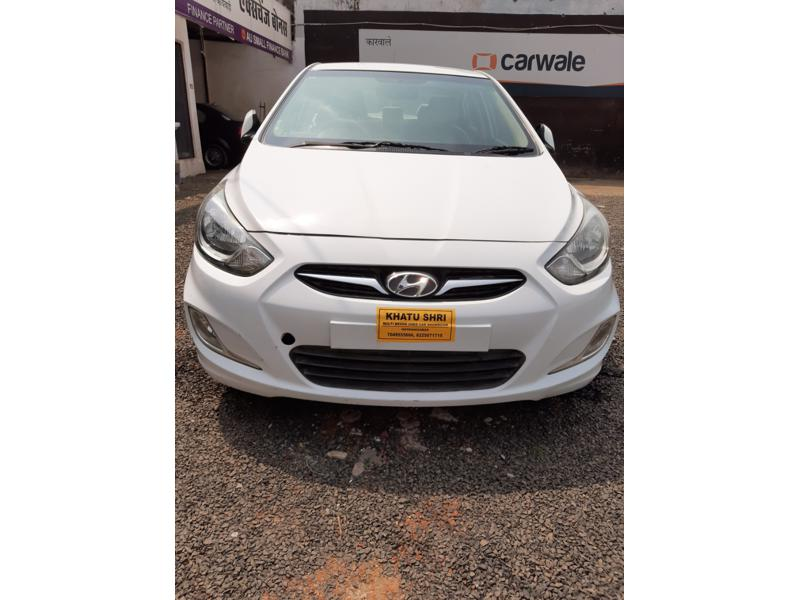 Used 2013 Hyundai Verna Car In Itarsi