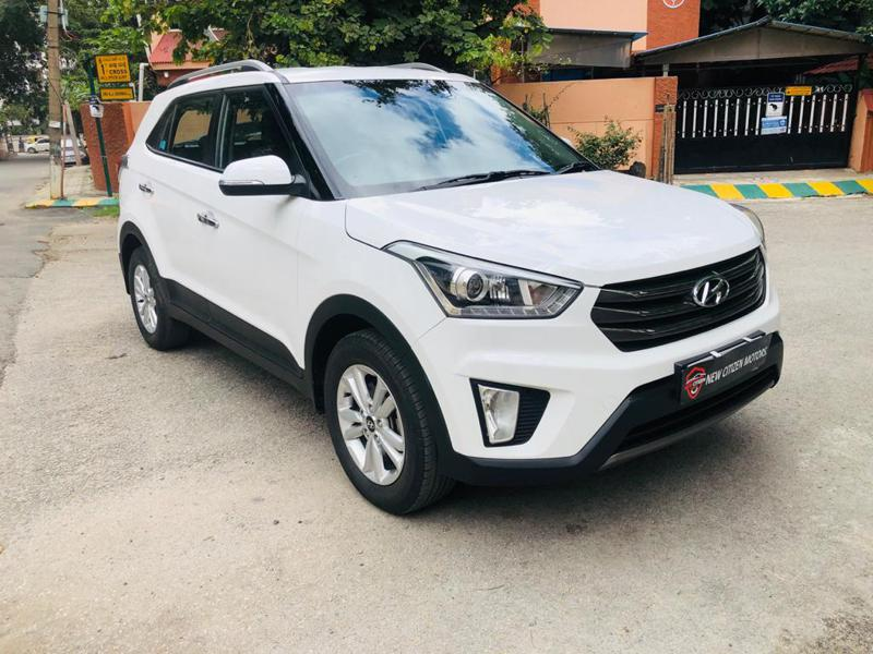 Used 2017 Hyundai Creta Car In Bangalore