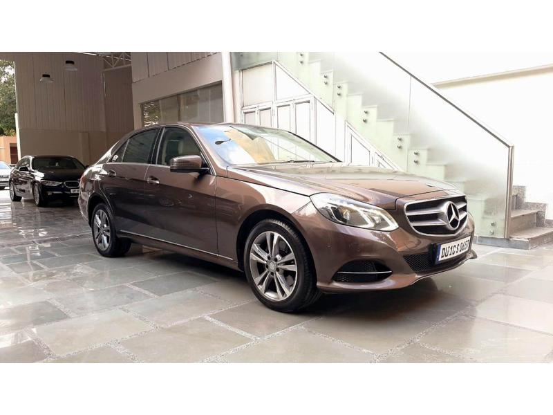 Used 2014 Mercedes Benz E Class Car In Gurgaon