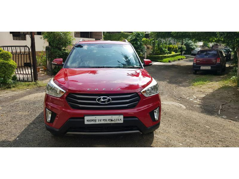 Used 2016 Hyundai Creta Car In Ahmednagar