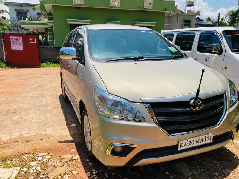 Used 2014 Toyota Innova Car In Udupi