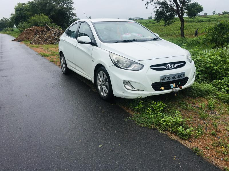 Used 2012 Hyundai Verna Car In Warangal