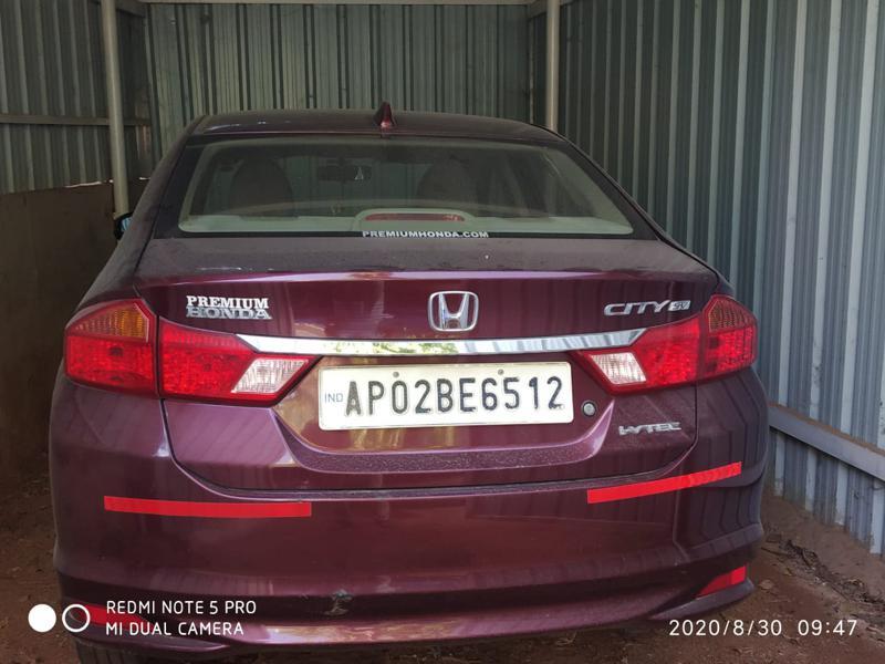 Used 2016 Honda City Car In Anantapur