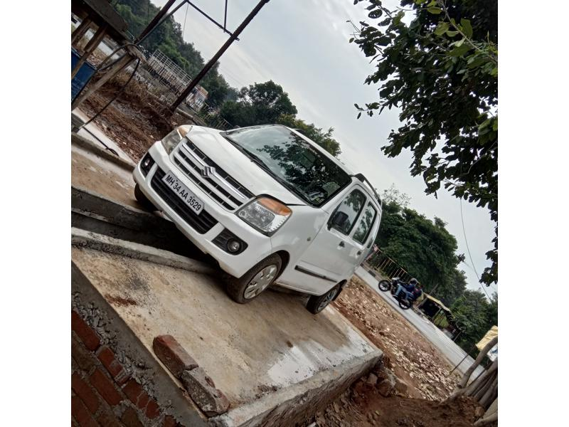 Used 2010 Maruti Suzuki Wagon R Duo Car In Bhandara