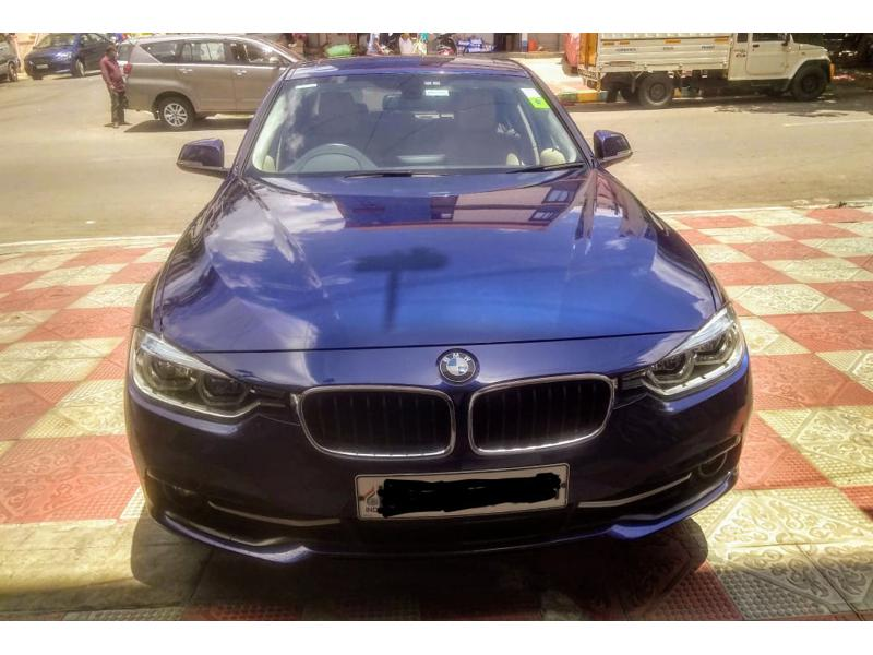 Used 2017 BMW 3 Series Car In Bangalore