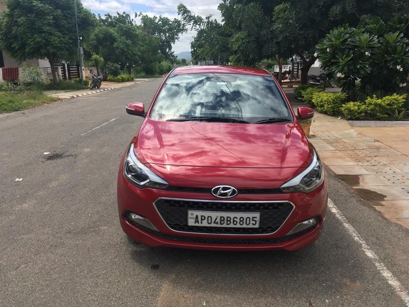 Used 2016 Hyundai Elite i20 Car In Anantapur