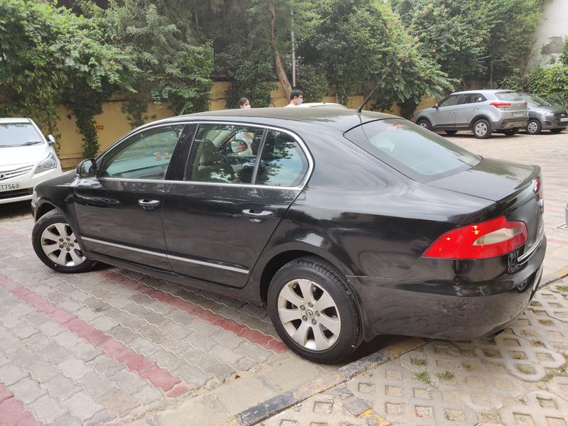 Used 2009 Skoda Superb Car In New Delhi