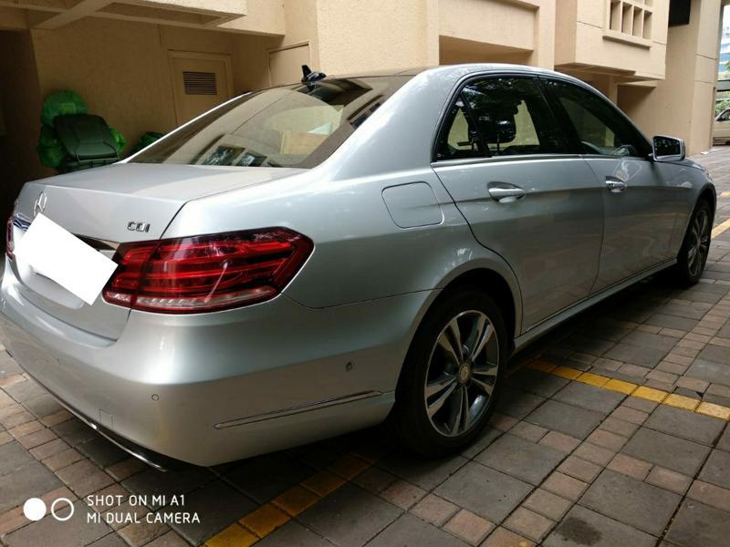 Used 2014 Mercedes Benz E Class Car In Pune